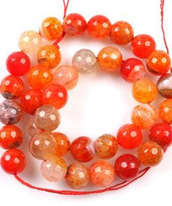 TT Thời Trang 3Strings-lot-Latest-Fashion-Orange-Agate-Round-Ball-Beads-Jewelry-Charms-Fit-Necklaces-Bracelets-DIY-Handcraft-1-247x296 Mã não cam