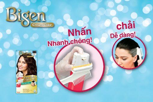 TT Thời Trang 25_bigen-one-push-ttthoitrang-com- Bigen Cream Color One Push (Bigen Nhấn)