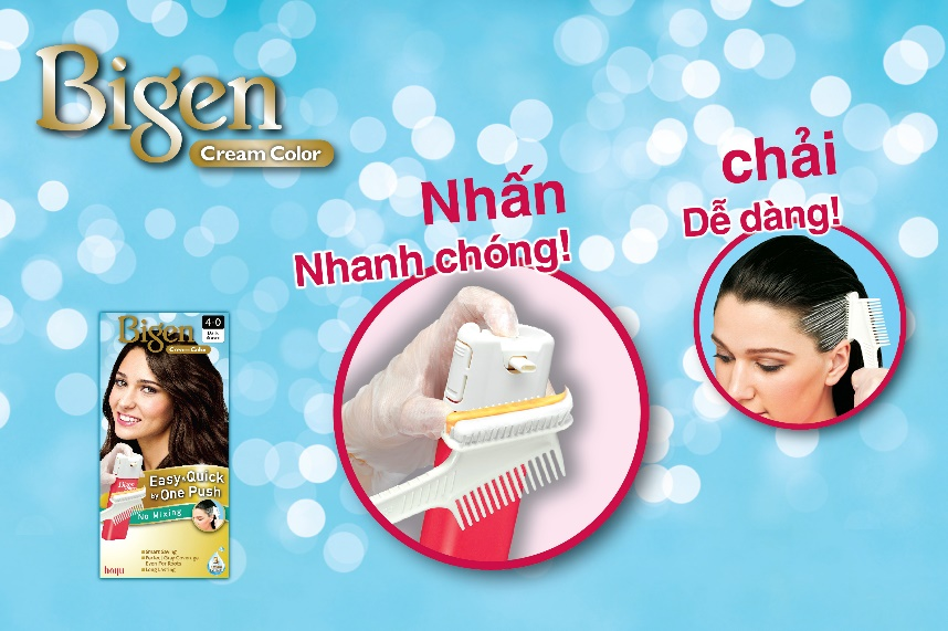 TT Thời Trang 32_bigen-one-push-ttthoitrang-com- Bigen Cream Color One Push (Bigen Nhấn)