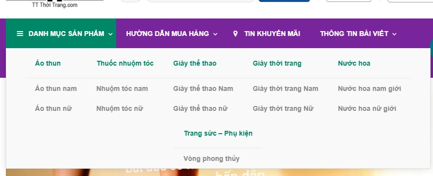 TT Thời Trang buoc-1 Hướng dẫn mua hàng tại Website TTthoitrang.com