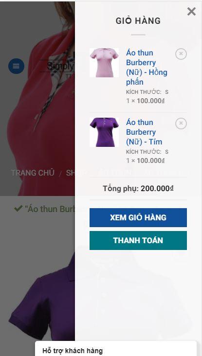 TT Thời Trang dt7 Hướng dẫn mua hàng trên điện thoại