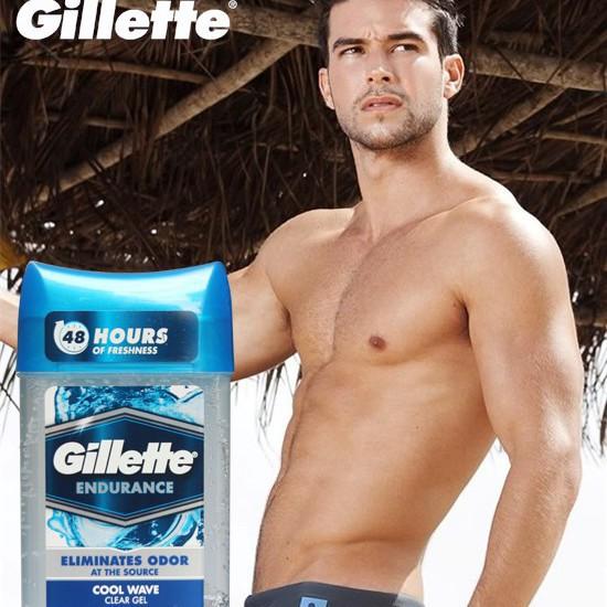 TT Thời Trang lan-khu-mui-nam Lăn khử mùi Gillette Endurance Cool Wave Clear Gel 107g