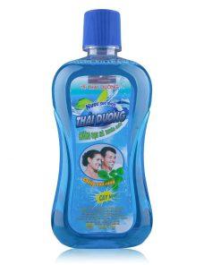 TT Thời Trang nuoc-suc-mieng-247x296 Nước súc miệng Thái Dương hương bạc hà thơm mát 500ml