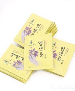 TT Thời Trang dau-goi-thao-duoc-247x296 Dầu Gội Thảo Dược Đen Tóc Beauty Star Hàn Quốc (Hộp 10 Gói x 30ml)