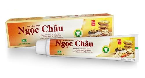 TT Thời Trang kem-dang-rang-ngoc-chau Kem đánh răng dược liệu Ngọc Châu ( 100g )