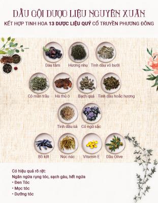 TT Thời Trang thanh-phan-tac-dung-311x400 Dầu gội dược liệu Nguyên Xuân ( 200ml )